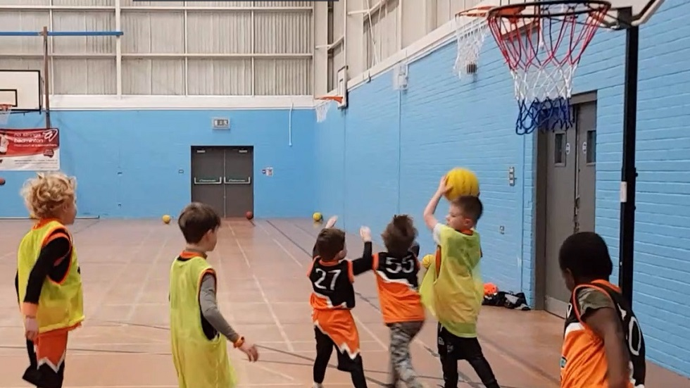 Poole Piranhas Basketball Club Footer Image
